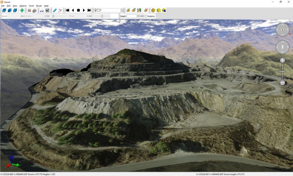 TcpMDT 8 Standard: A versão standar permite que um terreno seja modelado usando pontos coletados por qualquer estação total ou GPS