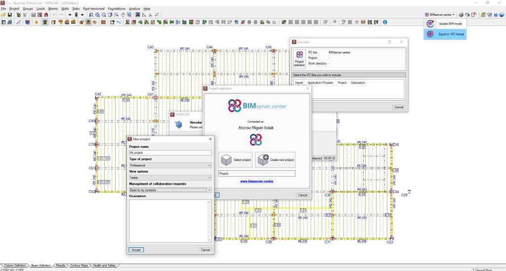 Criando um novo projeto Open BIM com CYPECAD