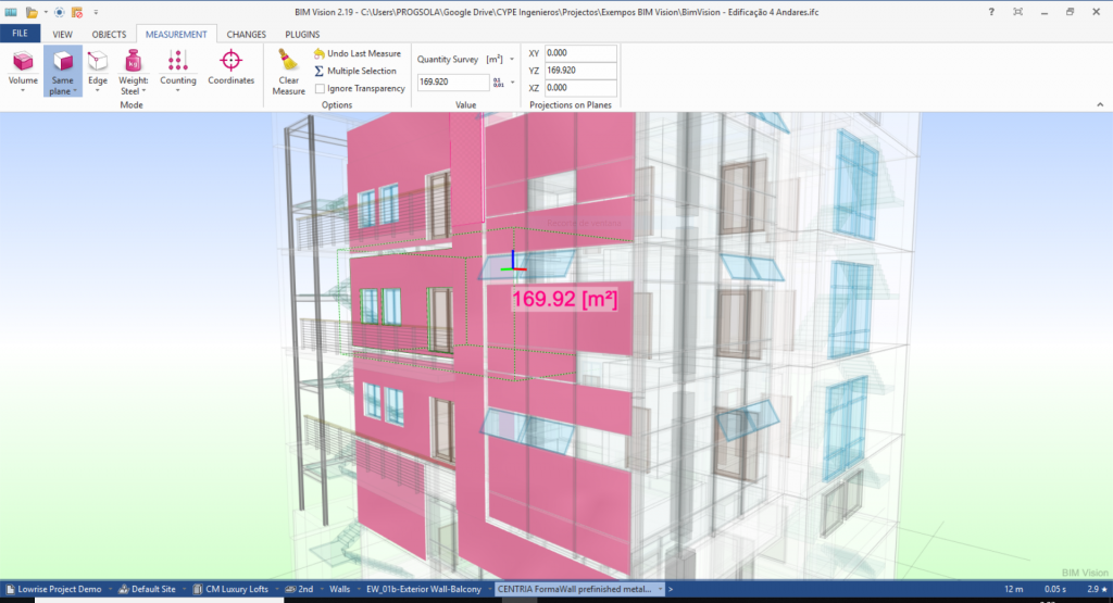 Datacomp Sp z o. o. a développé l'application BIM Vision