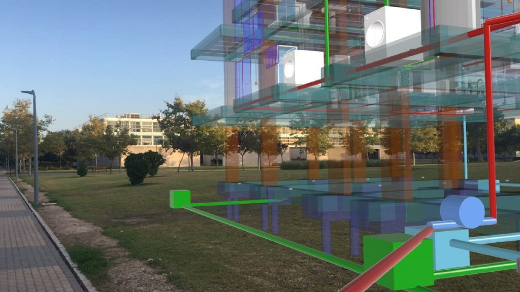 BIM model in Augmented Reality