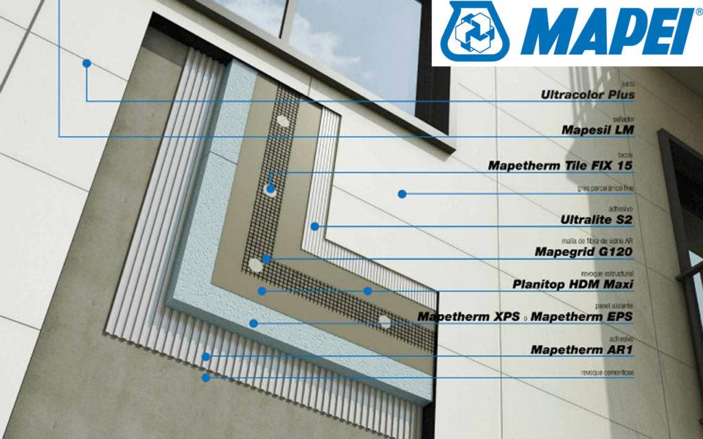 Sistemas MAPETHERM para aislamiento térmico por el exterior